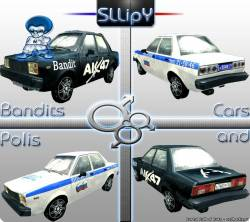 Police and Bandits Cars